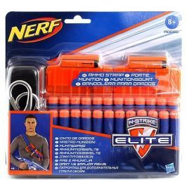 HASBRO NERF NERF Elite 2 náhradní zásobníky s popruhem a 24 šipkami