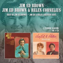 CD Jim Ed Brown & Helen Cornelius : Best Of / Greatest Hits