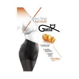 Gatta Černé dámské punčochové kalhoty Bye Cellulite Black, S