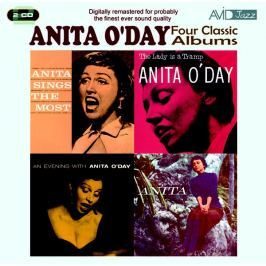 CD Anita O'day : Four Classic Albums
