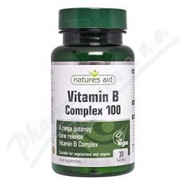 NATURES AID Ltd. Vitamín B Complex Mega 100mg - tbl.30