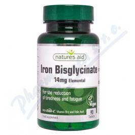 NATURES AID Železo (14mg) s vitaminem C a B12 tbl.90