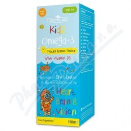NATURES AID Omega 3 sirup s přír.citr.aroma pro děti 6+ 150ml