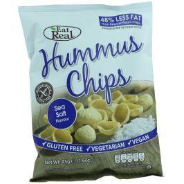 EatReal Hummus chipsy – s mořskou solí 45g