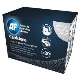 AF Cardclene - Čistící karty napuštěné rozpouštědlem (20  ks)