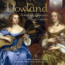 CD John Dowland : Songs for Soprano and Guitar
