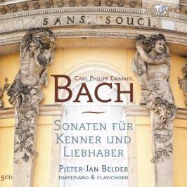 CD C. P. E. Bach : Sonaten Für Kenner Und Liebhaber