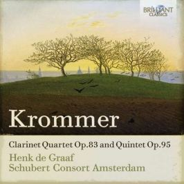 CD Krommer -  De Graff : Clarinet Quartet Op. 83