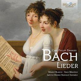 CD Bach Carl Phillipp Emanuel : Lieder :