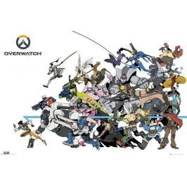 Overwatch - 158 / Battle, plakát Plakát