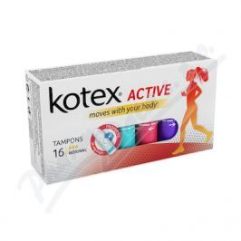 KIMBERLY CLARK KOTEX Tampony Active Normal 16ks