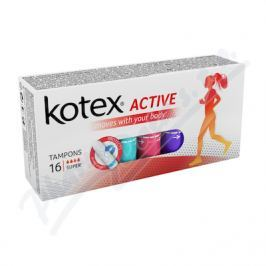 KIMBERLY CLARK KOTEX Tampony Active Super 16ks