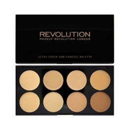 Makeup Revolution Ultra krycí paletka (Ultra Cover and Conceal), Light