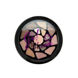 Makeup Revolution Paletka očních stínů Jdi do nebe I LOVE MAKEUP (Eyeshadow Palette) 8,5 g