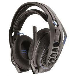 Plantronics RIG 800HS, bezdrátová herní sluchátka s mikrofonem, černá pro PS4