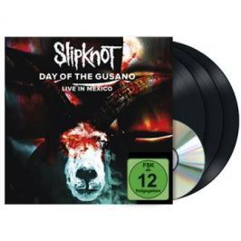 DVD Slipknot : Day Of The Gusano - Live In Mexico LP+