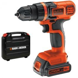 Black - Decker Aku vrtačka Black&Decker EGBL18K-QW
