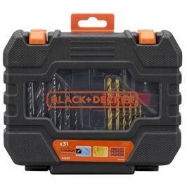 Black - Decker Sada vrtáků a bitů Black&Decker A7233, 31-dílná