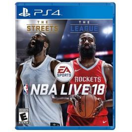 EA Games PS4 - NBA LIVE 18 EN  - 15.9.