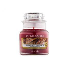Yankee Candle Vonná svíčka Classic malý Třpytivá skořice (Sparkling Cinnamon) 104 g