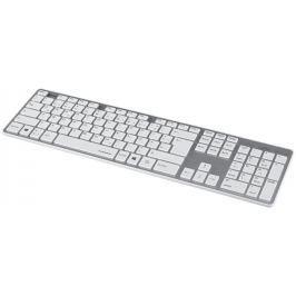 HAMA klávesnice Rossano, bíla/stříbrná