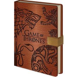 Game of Thrones BLOK/ZÁPISNÍK A5/