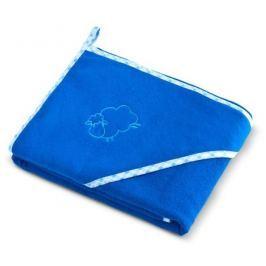 Dětská osuška 80x80 Sensillo, ovečka modrá