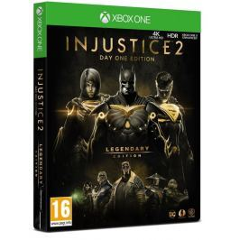 WARNER BROS XOne - INJUSTICE 2: LEGENDARY EDITION GOTY D1 STEELBOOK