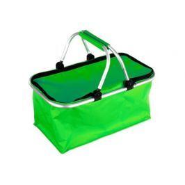 VETRO-PLUS Košík kempingový, zelený