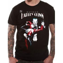 Batman - Harley Quinn And Joker, pánské tričko L