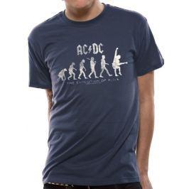 AC/DC - Evolution Of Rock, pánské tričko S
