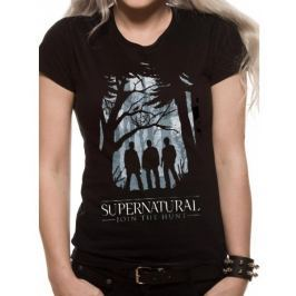 Supernatural - Group Outline, dámské tričko M