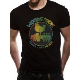 Woodstock - Colour Logo, pánské tričko L