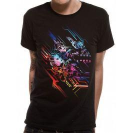 Valerian - Neon Poster, pánské tričko  M