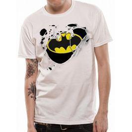 Batman - Torn Logo, pánské tričko  XL