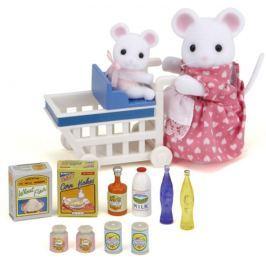 SYLVANIAN FAMILIES Maminka s dítětem na nákupu 5043