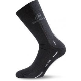 Lasting Vlněné ponožky  WLS, 34-37, Černá