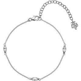 Hot Diamonds Stříbrný náramek  Anais bílý Topaz AB004