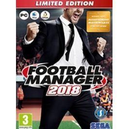 SEGA Football Manager 2018 Limitovaná Edice PC