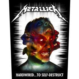 Metallica - Hardwired To Self Destruct, velká nášivka velká nášivka