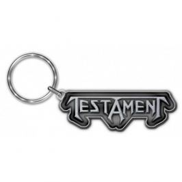 Testament - Logo, klíčenka klíčenka