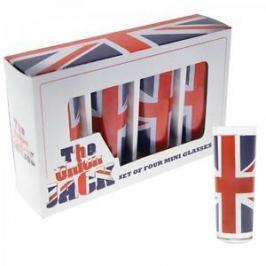 Union Jack - štamprdle, sklenice SKLENICE
