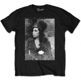 Amy Winehouse - Flower Portrait, pánské tričko M