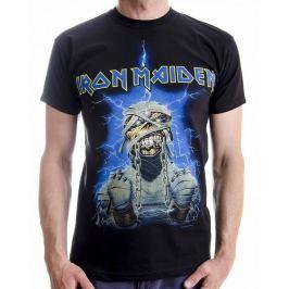 Iron Maiden - Dark Ink Powerslave, pánské tričko L