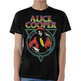 Alice Cooper - Snake Skin Mens Black, pánské tričko L