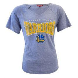 Mitchell & Ness Dámské tričko Mitchell & Ness Home Stretch V-Neck NBA Golden State Warriors, XS