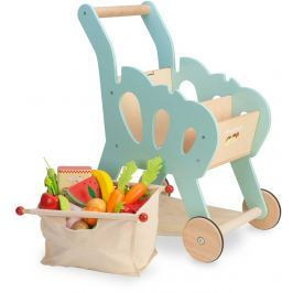 Le Toy Van  nákupní košík s příslušenstvím