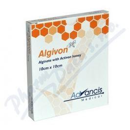 ADVANCIS MEDICAL Algivon 10x10cm krytí alginát.antimikrob. 5ks