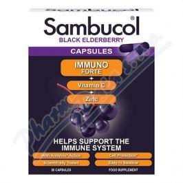 PHARMACARE SAMBUCOL Immuno Forte + vitamin C + zinek tob.30