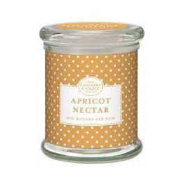 Country Candle Vonná svíčka ve skle s víčkem Meruňkový nektar (Apricot Nectar) 848 g